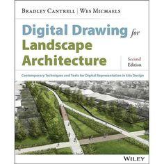 Landscaping Tips, Garden Landscaping, Landscape Architecture, Architecture Design, Green Architecture, Rendering Techniques, Drawing Techniques, Landscape Drawings, Landscape Designs