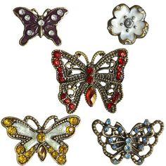 Butterfly Enamel Magnets