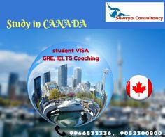 https://flic.kr/p/NyQr6Z | Canada Educational Consultants in Hyderabad | Sowrya Consultancy provides Excellent career guidance for Canada educational Consultant in Hyderabad, We provide intensive and interactive coaching for GRE, IELTS and PTE under guidance of Expert Faculty. We also providing student visa who are looking for Canada Student visa with the help of interactive sessions conducting by the  expert Counsellors