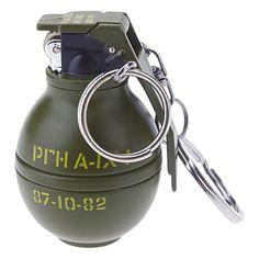 Keychain Style granata lega a forma di Accendino