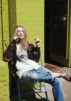 street style ideas grunge fashion converse nineties Grunge Outfits, Mode Outfits, Looks Style, Looks Cool, Style Me, Estilo Grunge, Outfit Jeans, Soft Grunge, Grunge Fashion Soft