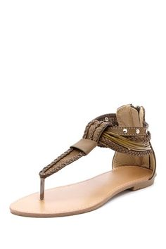 Bucco Carrini T-Strap Sandal by Something For Everyone on @HauteLook
