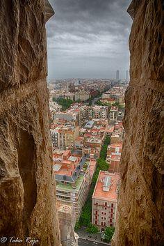 City Peek Sagrada Familia, Barcelona, Spain