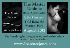 REVIEW of THE MASTER UNDONE (Inside Out Novella) by Lisa Renee Jones: http://thereadingcafe.com/the-master-undone-inside-out-novella-5-by-lisa-renee-jones-a-review/