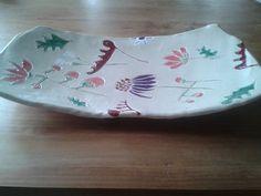 ceramic plate Flowers