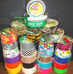 Duck Tape/Five Below or somewhere else. Really Cool!!!!!!! you can make so much stuff out of it, like a bag/purse thing or a mini stocking!