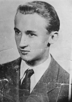 Portrait of Croatian rescuer Ivan Vranetic, who has been recognized by Yad Vashem as one of the Righteous Among the Nations.