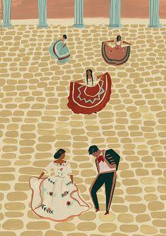 Mexican Folk Tales - Naomi Wilkinson Illustration