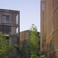 Ninetree Village by David Chipperfield Architects Bamboo Architecture, Architecture Board, Amazing Architecture, David Chipperfield Architects, Urban Apartment, Florence Tuscany, Hangzhou, Facade Design, Urban Design
