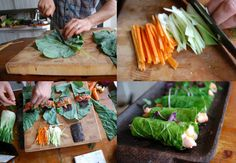 I learned this collard blanching trick a couple of months at a Vino/Vajayjay gathering- to die!