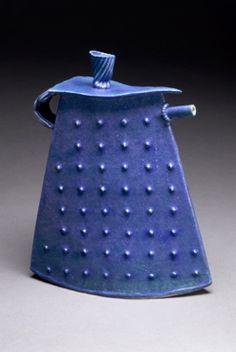 Mary Obodzinski. Ceramic teapot.