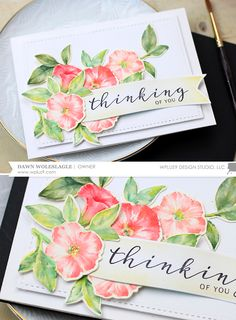 Hello everyone! Today I wanted to share a couple of cards with you featuring our Modern Petunias stamps and dies. This set was definitely ...