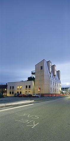 Svartlamoen housing, Trondheim. Architect: Brendeland & Kristoffersen arkitekter AS