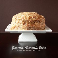 German Chocolate Cake Recipe on thatswhatchesaid.net  http://fillmytummy.info/category/chocolate-cake-recipes/
