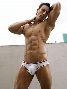 VINCENT / © RICK DAY  rickday.blogspot.com # pecs six pack abs hunk men armpits bare chest hot guy male body shirtless