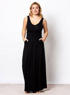 4eea6579e4 THE TANK MAXI - Brass Capsule Wardrobe, Personal Style, Spandex, V Neck,