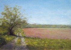 Farm Lane - Landscape Paintings by Joe Kazimierczyk