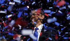 These glorious pictures show how America has declared that President Barack Obama will spend another four years in the White House, after beating his challenger Mitt Romney.