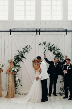 A Gorgeous Minimal White-Washed Barn Wedding in All White wedding ceremony A Gorgeous Minimal White-Washed Barn Wedding in All White Wedding Ceremony Ideas, Wedding Themes, Wedding Styles, Wedding Venues, Wedding Photos, Wedding Dresses, Barn Weddings, Barn Wedding Dress, Small Weddings