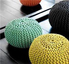 12 Ideas para hacer con trapillo o crochet XXL