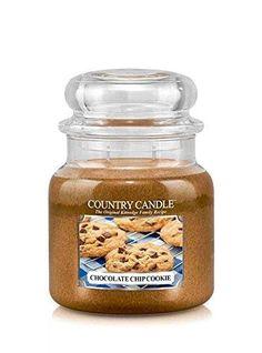 16oz Country Classics Medium Jar Kringle Candle: Chocolate Chip Cookie