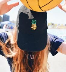Pineapple Polo embroidered unisex baseball cap - Rory Lux Apparel - 1