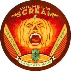 Magic Hat has a new pumpkin beer called Wilhelm Scream. So exciting