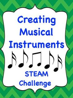 This is a STEAM challenge for music teachers at any grade level. It is also good for regular classroom teachers teaching the Next Generation Science Standards that relate to sound vibrations and communicating with sound energy. There is a challenge shee