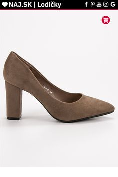 Semišové lodičky na opätku Ch. Peeps, Kitten Heels, Peep Toe, Platform, Shoes, Fashion, Moda, Zapatos, Shoes Outlet