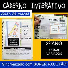 Código 520 Caderno Interativo - Volta às aulas - 3º ano                                                                                                                                                     Mais
