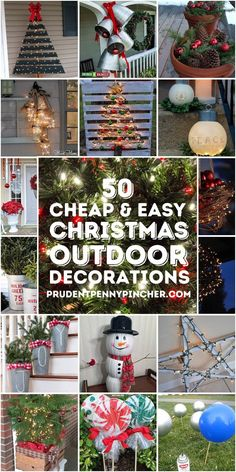 Outside Christmas Decorations, Christmas Christmas, Christmas Centerpieces, Father Christmas, Outdoor Christmas Decorations Cheap, Fence Decorations, Cheap Christmas Diy Gifts, Decorating For Christmas Outdoors, Christmas Decorations Diy Cheap