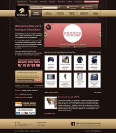 Spangle Sellerie - idéveloppement : création de site internet bordeaux #webdesign #frontend #backend