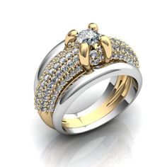 Wedding rings 224 3D Model .max .c4d .obj .3ds .fbx .lwo .stl @3DExport.com by Ritaflower