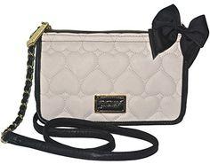 Women's Cross-Body Handbags - Betsey Johnson EW Be Mine Bone Cross Body Purse ** More info could be found at the image url.