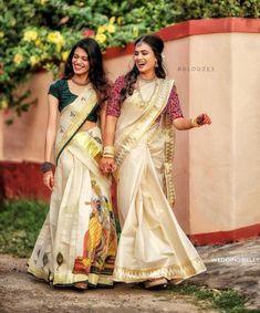 South Indian Wedding Saree, Saree Wedding, Half Saree Designs, Saree Trends, Photography Poses Women, Fancy Sarees, Hot Actresses, Lehenga, Sari