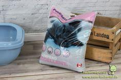 Katzenstreu im Test: PREMIERE Excellent Klumpstreu, Babypuder-Duft