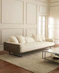 Shop Preston Modern Tufted Sofa at Horchow, where you'll find new lower shipping on hundreds of home furnishings and gifts. Design Living Room, Living Room Sofa, Living Room Furniture, Cheap Furniture, Sofa Furniture, Furniture Design, Modern Furniture, Antique Furniture, Discount Furniture