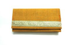 Handmade Jute Wallet for Women. A very stylish and elegant wallet made of Jute by our craftsmen from West Bengal.