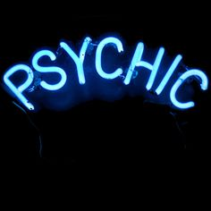 Psychic Neon Lights | Light Up Sign | Divination | Readings | Storefront | Occult & Esoteric Shop