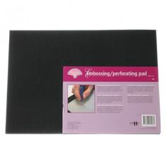 Pergamano Embossing / Perforating Pad Extra Large - The Pergamano Embossing / Perforating Pad Extra Large makes sure that your sheet of parchment paper fits nicely on the embossing mat without it being too close to the edge. Working On It, Parchment Paper, Boards, How To Make, Planks, Vellum Paper