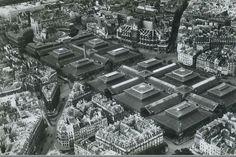 L'architecte Victor Baltard (1805-1874) réalisa les anciennes Halles centrales de Paris entre 1852 et 1872