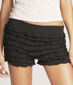 Love these shorts and they are super comfortable...