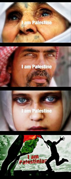 I am Palestinian and I am proud!!!... my heart is pure Palestinian...Long Live Palestine, We Shall Return!!!..inshalllah!