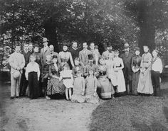 """longliveroyalty: """" Group photograph at Fredensborg Slot. 1889. Includes: Tsarevich Nicholas of Russia; Prince Nicholas of Greece; Prince Charles of Denmark; Princess Victoria of Wales; Prince..."""