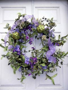 7388786860662473 Spring Wreath Wreath For Front Door Natural Look by forevermore1, $105.00