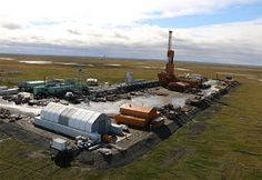 The company said the Doyon Rig 19 drilled a horizontal injection well 26,196 feet, a record for overall measured length of a well for the state.
