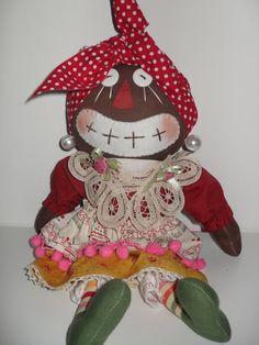 Handmade Beloved Belindy Country Rag Doll  Doll