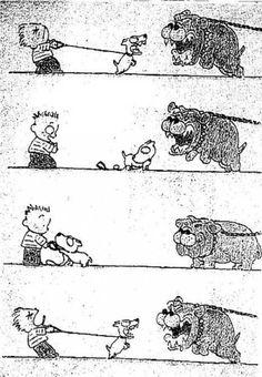 Courage dog vs dog comic
