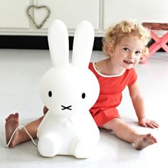Miffy lamp small - Lamper - Mekavi ApS