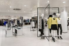 Womens Fashion Floor & Shoe Department by Furniss & May at Jarrold Department Store, Norwich – UK » Retail Design Blog